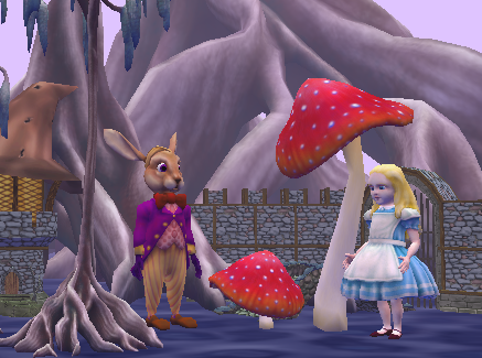 An Alice3 virtual world